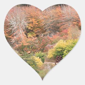 Autumn splendour, Adelaide Hills 2 Heart Sticker
