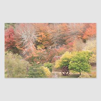 Autumn splendour, Adelaide Hills 2 Rectangular Sticker
