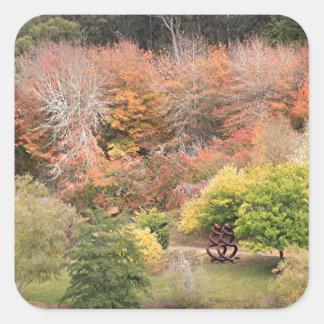 Autumn splendour, Adelaide Hills 2 Square Sticker