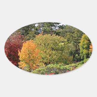 Autumn splendour, Adelaide Hills Oval Sticker