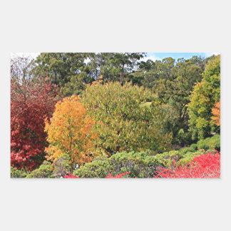 Autumn splendour, Adelaide Hills Rectangular Sticker