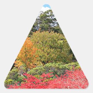 Autumn splendour, Adelaide Hills Triangle Sticker