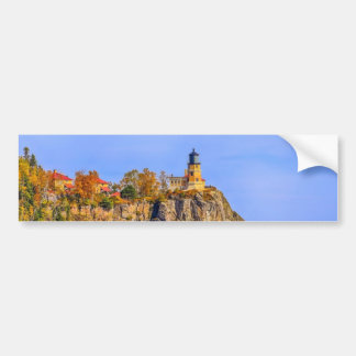 Autumn Split Rock Bumper Sticker
