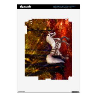 Autumn Spotted Unicorn iPad 3 Decals