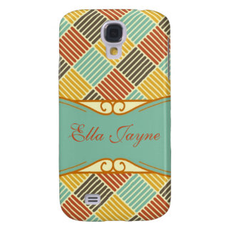Autumn Square for iPhone 3G Samsung Galaxy S4 Case