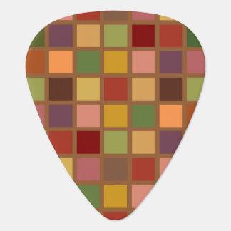 Autumn Squared Guitar Pick