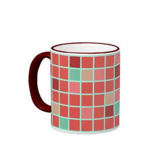 Autumn Squares Mugs