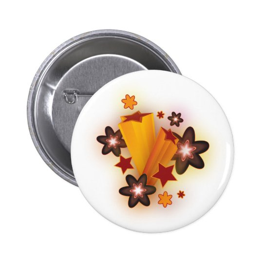 Autumn Star Button