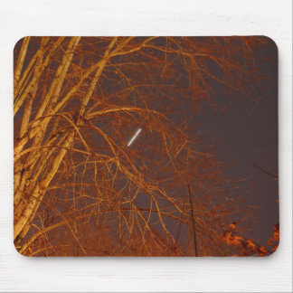 Autumn Star Trails Mouse Pad