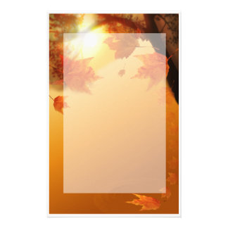 Autumn Stationary Stationery