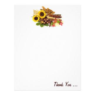 Autumn Still Life Letter Head Letterhead