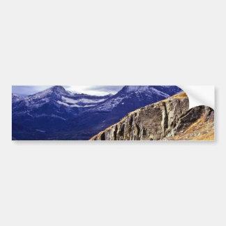 Autumn Storm Clouds - Glacier Lake National Park Car Bumper Sticker