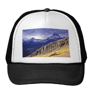 Autumn Storm Clouds - Glacier Lake National Park Mesh Hats