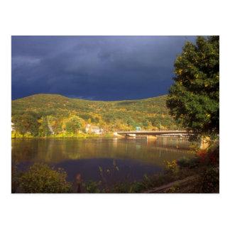 Autumn Storm over the Connecticut River Postcard