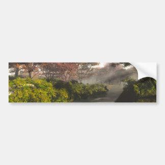 Autumn Stream Car Bumper Sticker