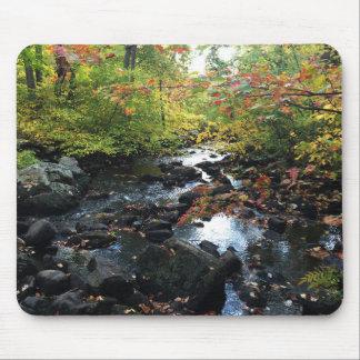 Autumn Stream Mouse Pad