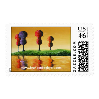 Autumn Strings Postage Stamps