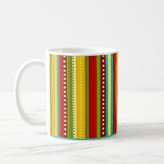 Autumn Stripes Mug mug