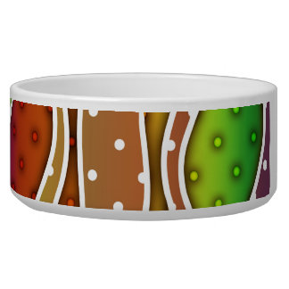 AUTUMN STRIPES SNACK or PET BOWL