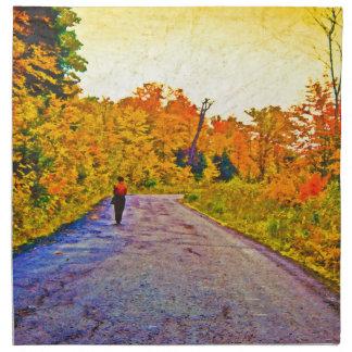 Autumn Stroll Cloth Napkin