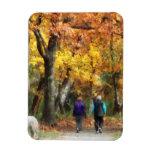 Autumn Stroll Flexible Magnet