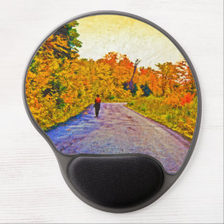 Autumn Stroll Gel Mouse Pad