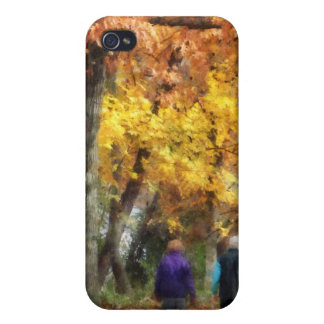 Autumn Stroll Case For iPhone 4