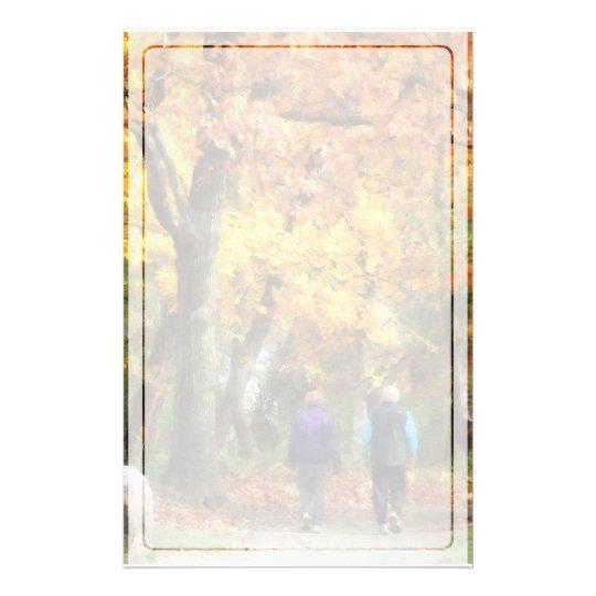 Autumn Stroll Stationery