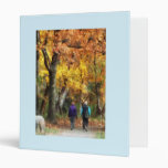 Autumn Stroll Vinyl Binders