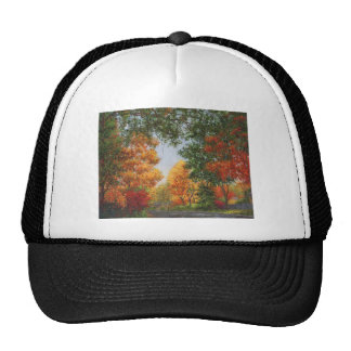 Autumn Suburbs Mesh Hats