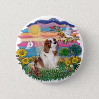 Autumn Sun - Blenheim Cavalier Button