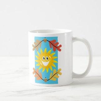 Autumn Sun Classic White Coffee Mug