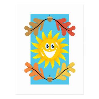 Autumn Sun Post Cards