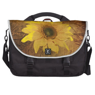 Autumn sunflower laptop bags