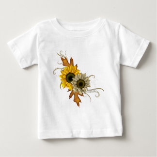 Autumn Sunflowers Baby T-Shirt