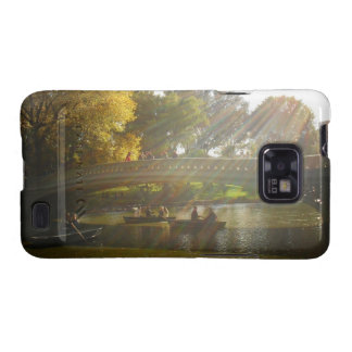 Autumn Sunlight - Central Park - NYC Galaxy S2 Cases