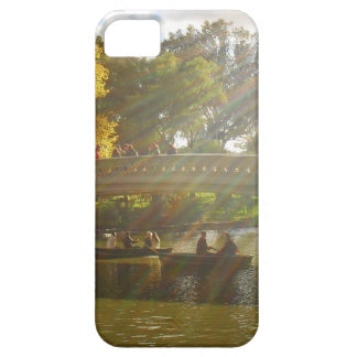 Autumn Sunlight - Central Park - NYC iPhone 5 Cases