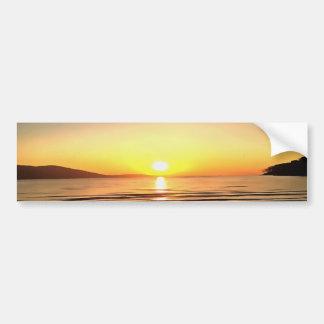 Autumn Sunset Bumper Sticker