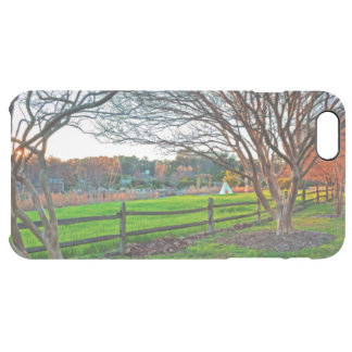 Autumn Sunset by Shirley Taylor Clear iPhone 6 Plus Case