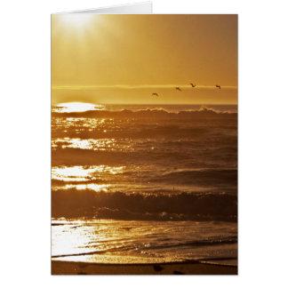 Autumn Sunset Card