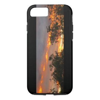 Autumn Sunset in Canberra iPhone 7 Case