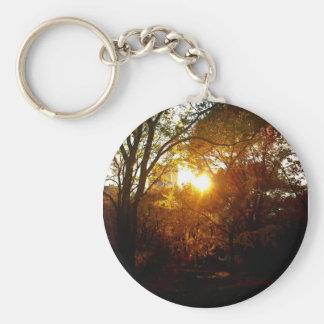 Autumn Sunset Key Chains