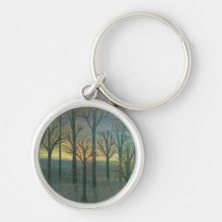 Autumn Sunset Keychain