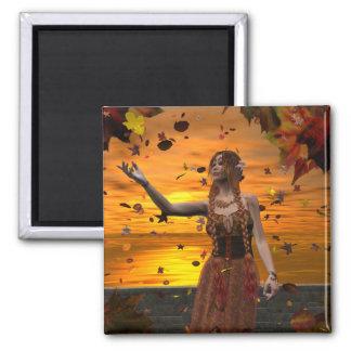 Autumn Sunset Magnet