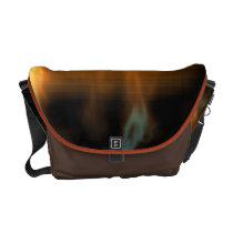 Autumn Sunset Storm Messenger Bag