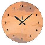 Autumn Sunset Wall Clocks