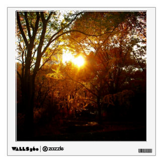 Autumn Sunset Wall Sticker