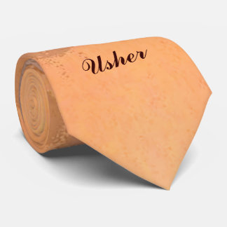Autumn Sunset Wedding Usher Tie
