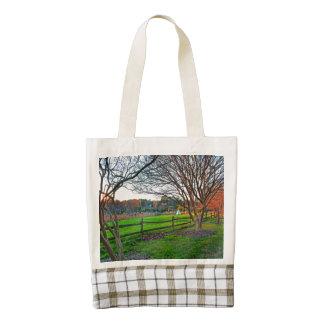 Autumn Sunset Zazzle HEART Tote Bag