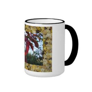 autumn suprise ringer mug